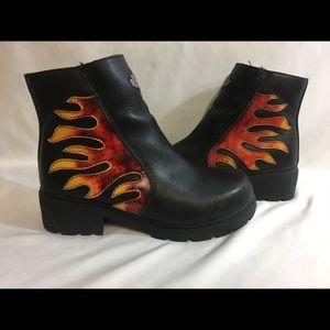Harley-Davidson Flame Boots